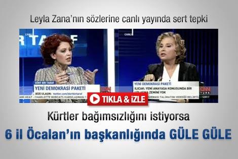 Nazlı Ilıcak'tan Leyla Zana'ya sert eleştiri - İzle
