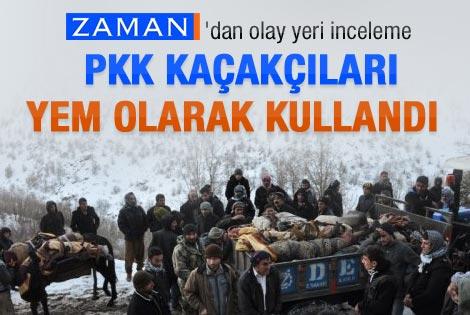 PKK mazot kaçakçılarını yem yaptı