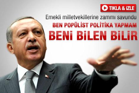 Erdoğan'dan vekil zammı vetosuna ilk tepki
