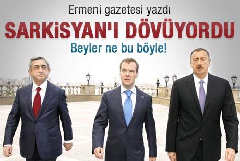 Aliyev Sarkisyan'ı dövüyordu