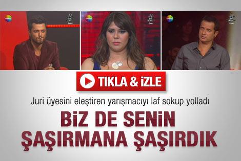 O Ses Türkiye'de elenen yarışmacı jüriyi eleştirince..
