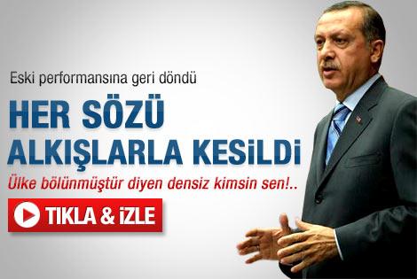 Erdoğan'ın 2012'deki ilk grup konuşması