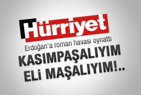 Hürriyet'ten çok konuşulacak Erdoğan karikatürü