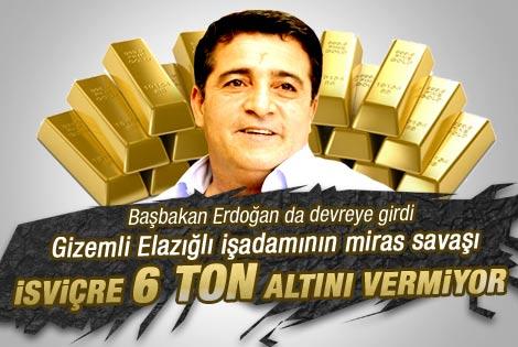 Baba mirası 6 ton altın krize neden oldu