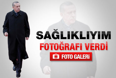 Erdoğan'dan sağlıklıyım fotoğrafı - Galeri