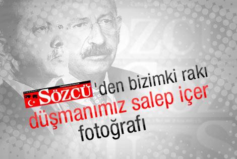 Kılıçdaroğlu rakı Erdoğan salep içti
