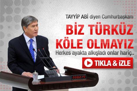 Genel Kurul'da Türk birliği çağrısı