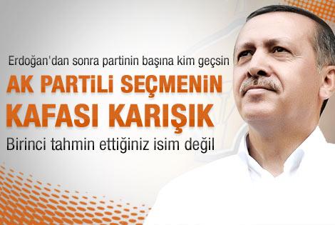 Erdoğan'dan sonra Ak Parti'nin başına kim geçsin