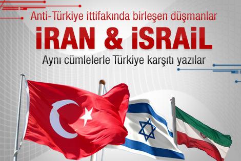 İran ve İsrail'in Türkiye kardeşliği