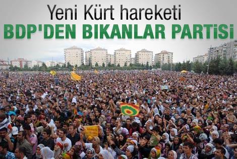 Yeni bir Kürt partisi kuruluyor iddiası