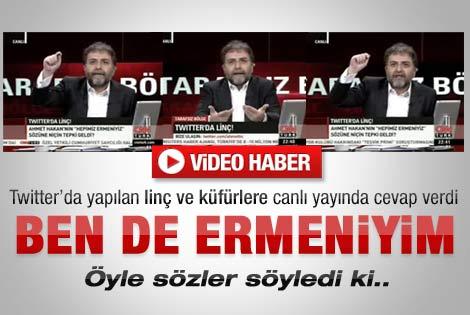 Ahmet Hakan: Ben de Ermeniyim - İzle