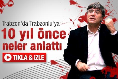 Hrant'ın Trabzonlularla dertleşmesi