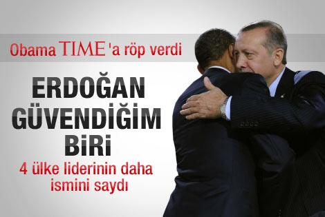 Obama: En güvendiğim liderlerden biri Erdoğan