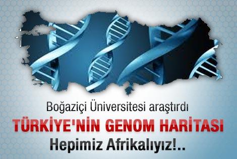 BOÜN Türkiye'nin genom haritasını çıkardı
