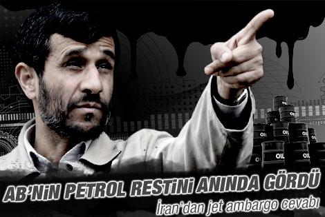 İran'a petrol ambargosu