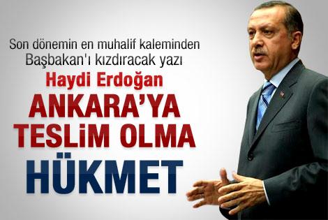 Çandar'dan Erdoğan'a: Teslim olma hükmet