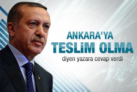 Erdoğan'dan Cengiz Çandar'a cevap