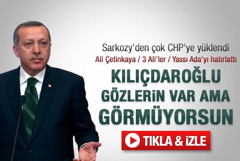 Erdoğan'dan Kılıçdaroğlu'na sert eleştiriler