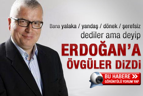 Serdar Turgut: Erdoğan'a minnet duymak