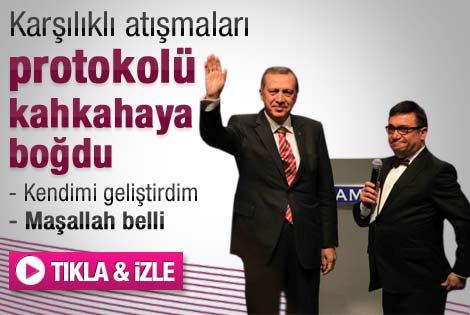 Başbakan ile Kadir Çöpdemir'in ilginç diyaloğu - İzle