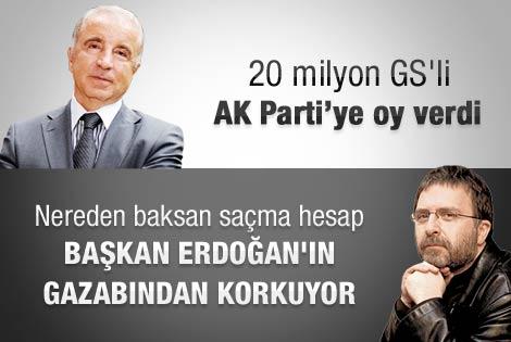 Ahmet Hakan'dan Ünal Aysal'a sert çıkış