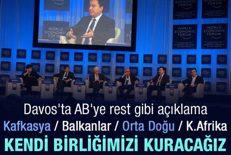Babacan Davos'ta Türkiye'nin rotasını çizdi