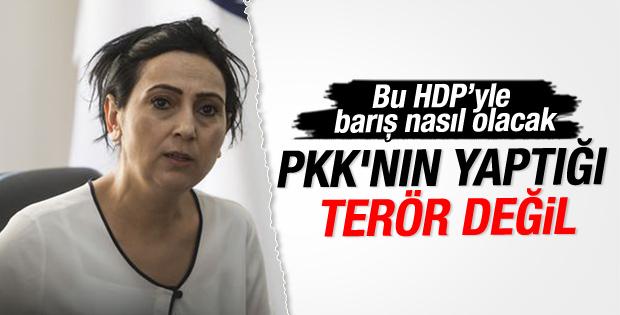 Figen Yüksekdağ'dan skandal açıklama