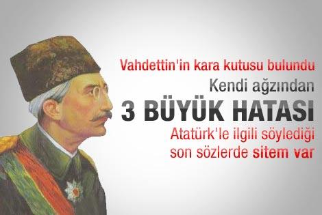 Sultan Vahdettin'in kara kutusu