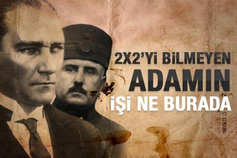 Karabekir'den Atatürk'e: Bu adamın ne işi var burada