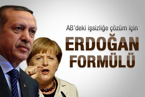AB'deki işsizliğe Erdoğan formülü
