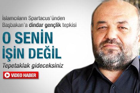 İhsan Eliaçık'tan Başbakan'a tepki