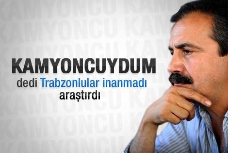 Sırrı Süreyya'nın kamyoncu kaydı Trabzon'da çıkmadı