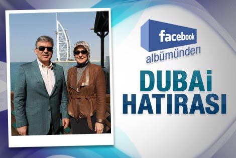 Gül çiftinin Dubai hatırası - Galeri