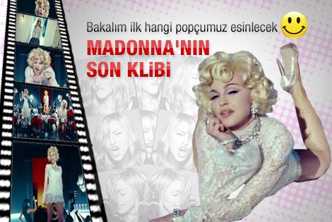 Madonna yeni klip çekti - Video
