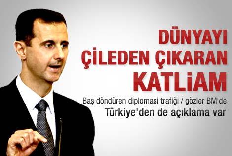Davutoğlu BM'yi Suriye'ye karşı göreve çağırdı