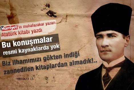 Taha Akyol Atatürk kitabını Neşe Düzel'e anlattı