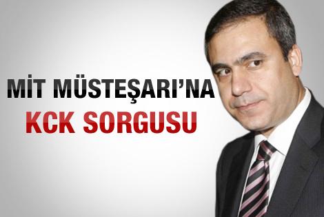 MİT Müsteşarı Fidan ifadeye çağrıldı