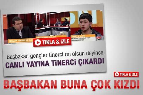 Başbakan Erdoğan Cüneyt Özdemir'e sert çıktı