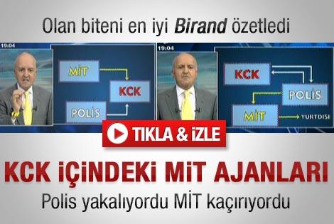 Birand MİT KCK iddialarının perde arkasını anlattı