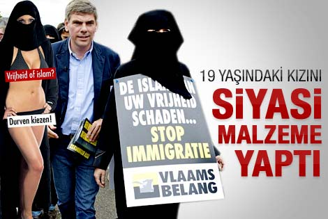 Türk düşmanı Belçikalı'dan pankart savunması