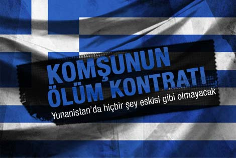 Yunanistan ölüm kontratını imzaladı