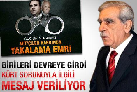 Ahmet Türk'ten MİT yorumu