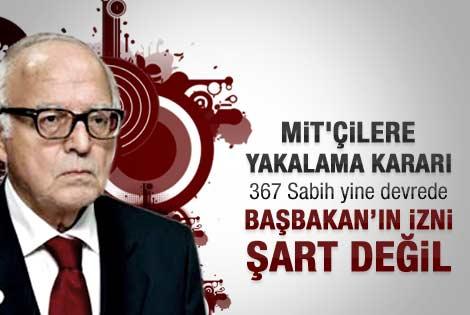Kanadoğlu: MİT'çilerin ifadesi için izin şart değil