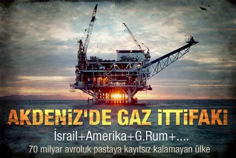 Akdeniz'deki doğalgaz ittifakı şaşırttı