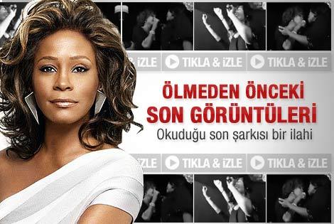 Whitney Houston'ın ölmeden önceki son görüntüleri - İzle