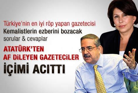 Atatürk'ten af dileyen gazeteciler