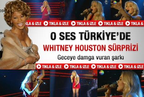 O Ses Türkiye'de Whitney Houston şarkısı - Video