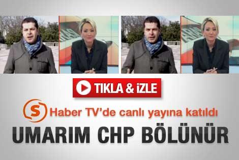 Cüneyt Özdemir: Umarım CHP bölünür - Video