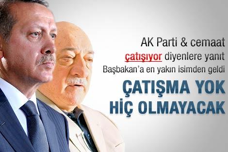 Başbakan'ın danışmanı: AK Parti - Gülen çatışması yok