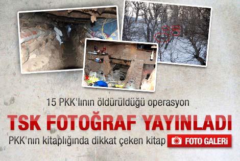 TSK'dan 15 terörist açıklaması